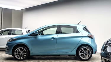 New Renault ZOE - side view