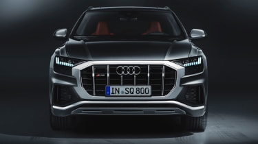 Audi SQ8 SUV front grille