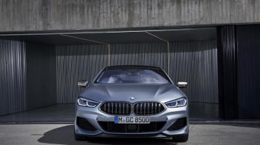 BMW 8 Series Gran Coupe - front straight on static