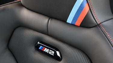 BMW M2 CS seat details