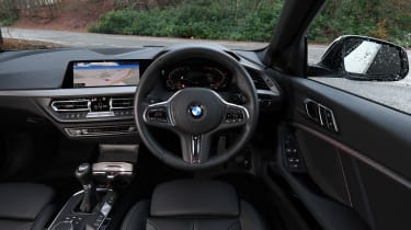 BMW 1 Series M Sport interior
