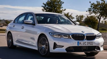 BMW 3 series front driving