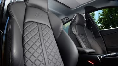 Audi S5 Sportback front seats