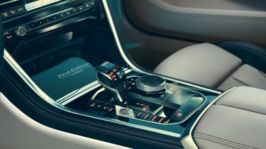 bmw M850i xdrive first edition centre console