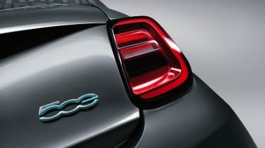 2020 Fiat 500 electric convertible - rear light