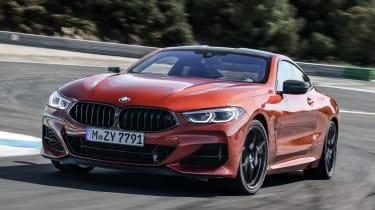 BMW M850i front