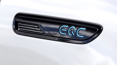 2019 Mercedes EQ C badge