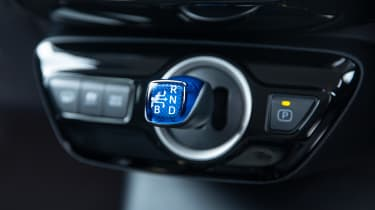 Toyota Prius Plug-in Hybrid hatchback gear selector