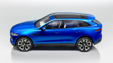 Jaguar C-X17 4x4 concept 2013 side