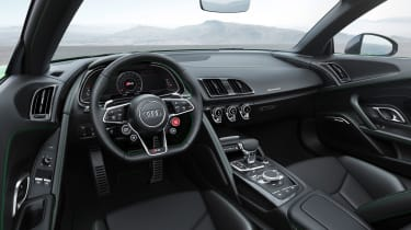There's a 12.3-inch 'Virtual Cockpit' display and almost every function can be controlled from the steering wheel