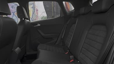 The interior uses pleasant materials, and is generally spacious although rear seat legroom is only adequate
