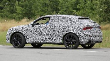 Audi RS Q3 Sportback rear 3/4 prototype