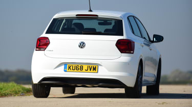 Volkswagen Polo - rear 3/4 view