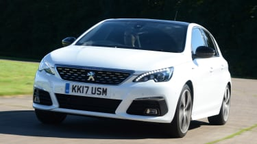 The 308 is fun to drive, but still a little less involving than a Focus or SEAT Leon