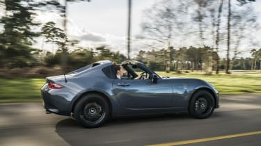 2020 Mazda MX-5 GT Sport Tech - rear 3/4 dynamic