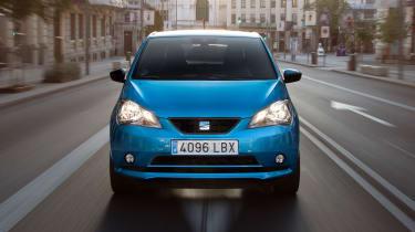 2019 SEAT Mii Electric - Front dynamic view