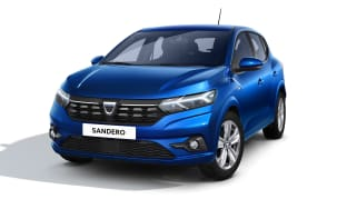 New Dacia Sandero in blue