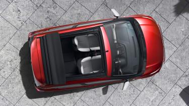 Citroën C1 Urban Ride - above view city