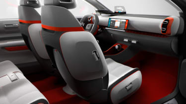 Even the concept has many storage spaces - the production car will follow suit