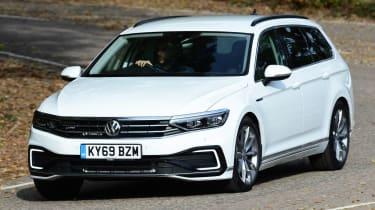 Volkswagen Passat GTE Estate driving