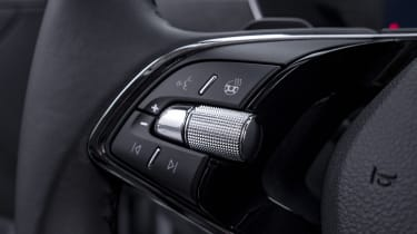 2020 Skoda Octavia steering wheel buttons - left side