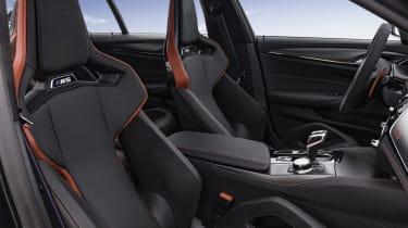 2021 BMW M5 CS - front seats