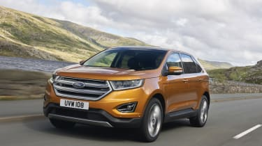 The Edge is available with two versions of the same 2.0-litre diesel engine, each of which manage 177 or 207bhp.