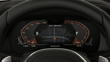 BMW X5 M50i digital dash
