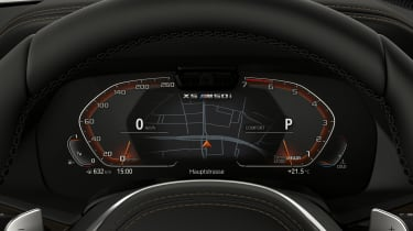 BMW X5 M50i digital dash