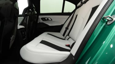 BMW M3 Competition saloon - rear seats