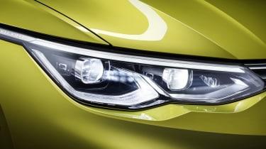 2020 Volkswagen Golf headlight
