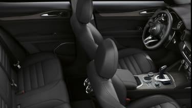 Alfa Romeo Stelvio SUV equipment