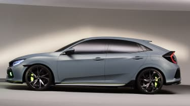 Honda gave the new Civic an athletic profile
