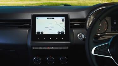 2019 Renault Clio - sat nav screen