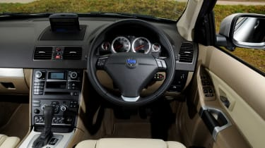 used volvo xc90 interior
