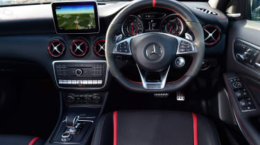 Mercede-AMG A45 interior