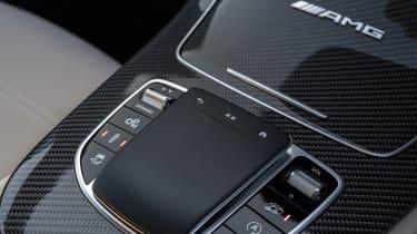 Mercedes-AMG E 63 estate touchpad