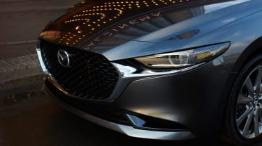 2019 Mazda3 saloon grille