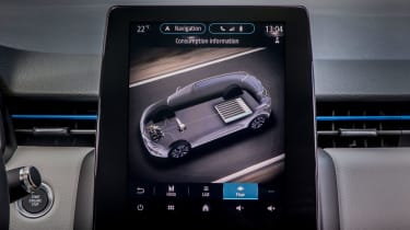 Renault Clio E-Tech Hybrid - infotainment screen