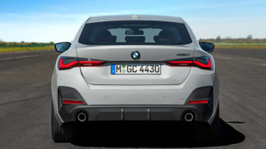 New BMW 4 Series Gran Coupe - rear static