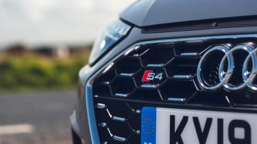 Audi S4 Avant estate grille