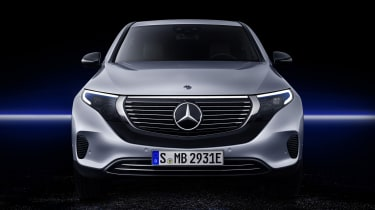 2019 Mercedes EQ C front