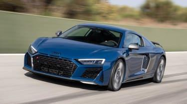 Audi R8 - dynamic 3/4 view