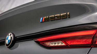 BMW M235i Gran Coupe saloon rear badge
