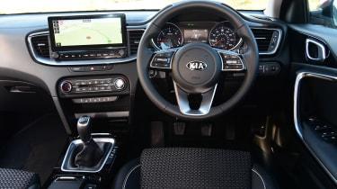 Kia XCeed hatchback interior