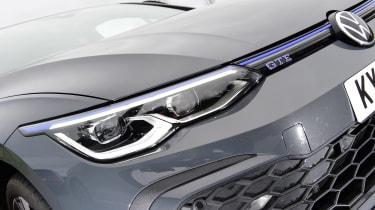 Volkswagen Golf GTE hatchback headlights
