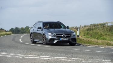 The E 63 is a thrilling drive, with sharp steering and immediate response from the engine