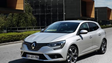 Renault will be hoping the new Megane is good enough to attract buyers away from strong rivals such as the VW Golf