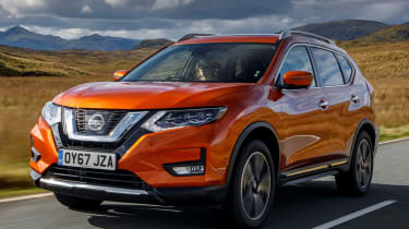2017 Nissan X-Trail - dynamic front 3/4