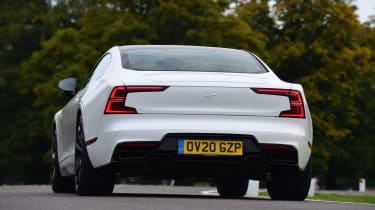 Polestar 1 coupe rear cornering